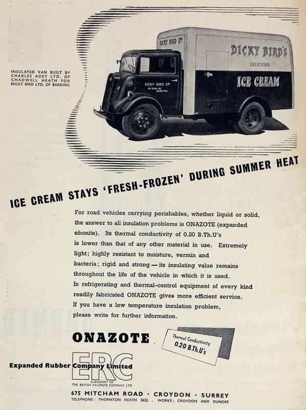 ERC Ice cream 1948