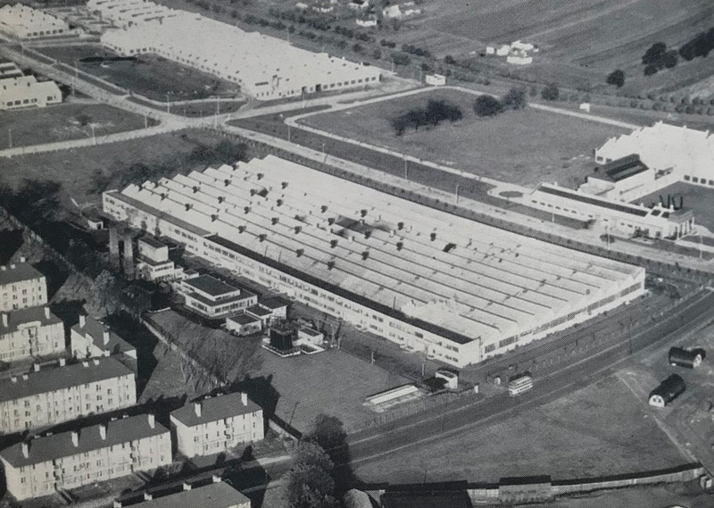 expanded-foams Dundee factory 1945