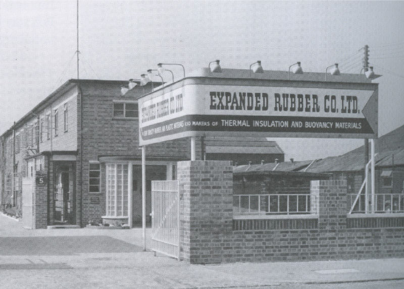 expanded rubber co 1950
