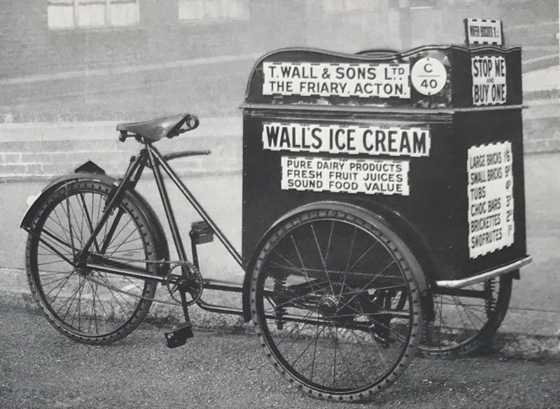 Vintage icecream refrigeration